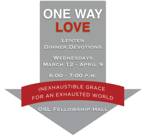Lent dinner devo pic